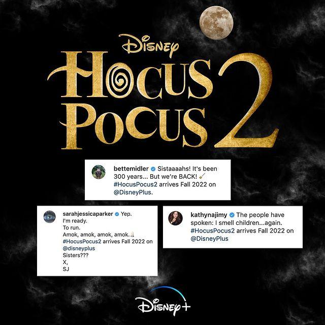 Poster del anuncio de Hocus Pocus 2