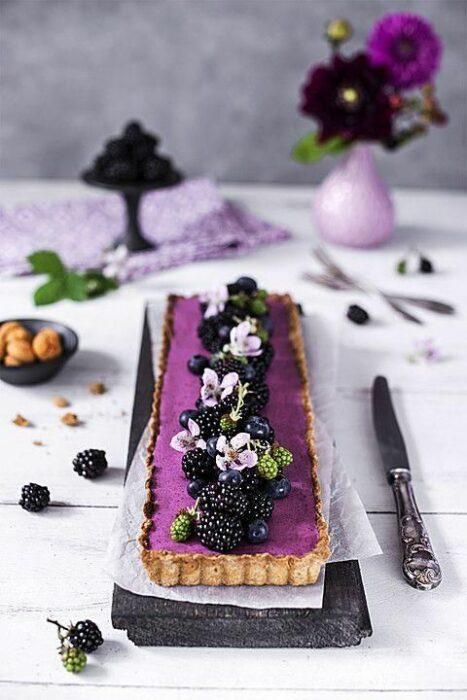 Tarta con moras ;18 Hermosos pasteles de moras que querrás presumir en Instagram