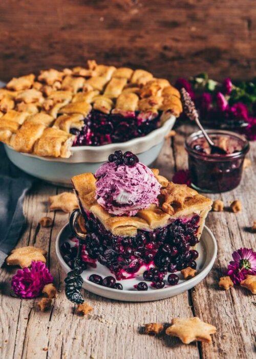 Tarta horneada de moras ;18 Hermosos pasteles de moras que querrás presumir en Instagram