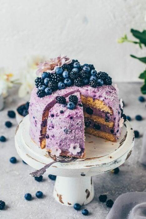 Pastel casero con moras ;18 Hermosos pasteles de moras que querrás presumir en Instagram