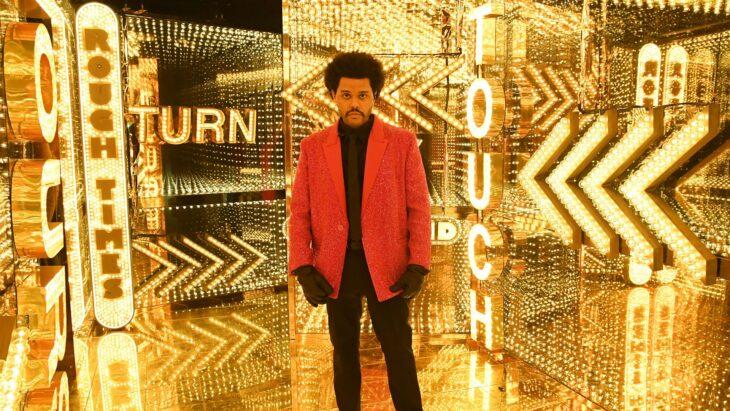 The Weeknd en el medio tiempo del super bowl