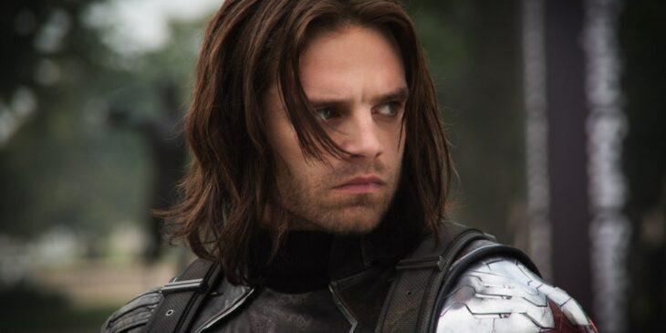 Bucky Barnes, el soldado del invierno en una escena de las películas de Marvel