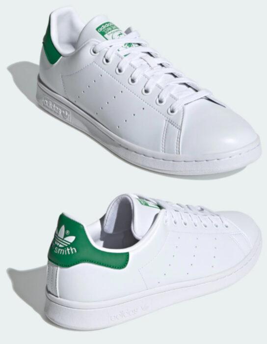 Tenis adidas Stan Smith blancos con detalles negros