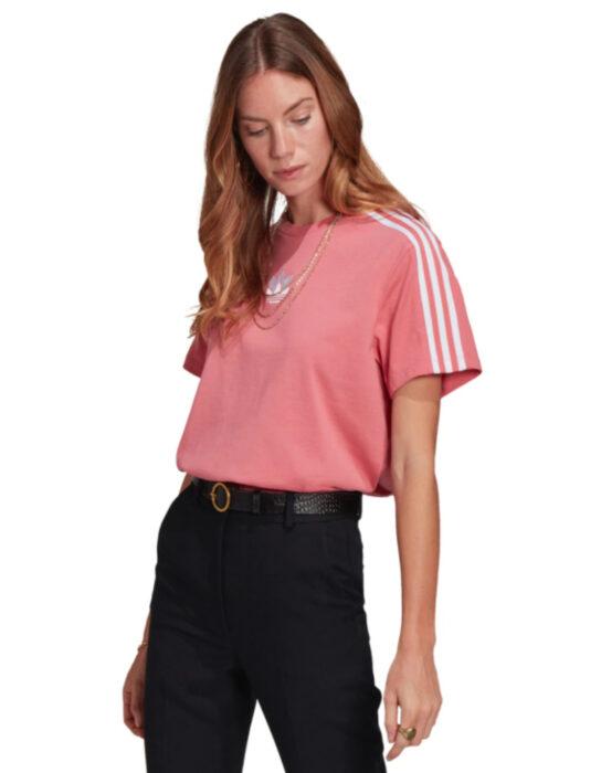 Blusa deportiva adidas color rosa
