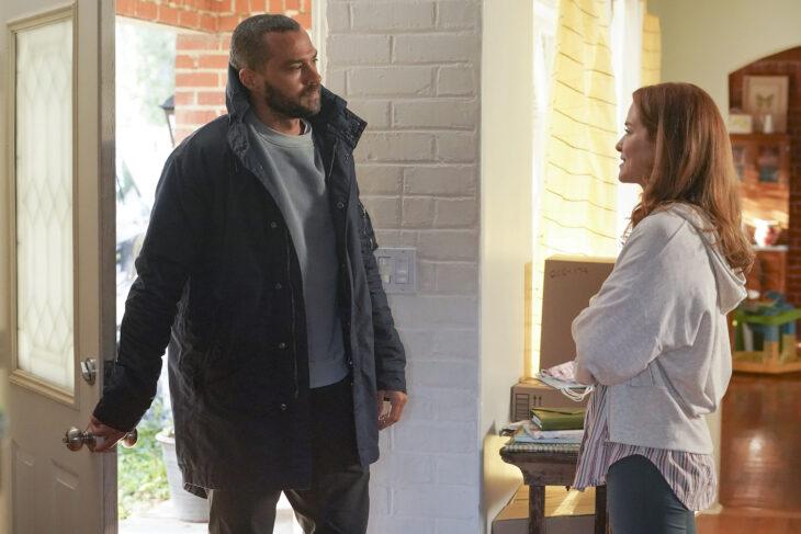 Escena de Jessi Williams en la que se despide de Grey's Anatomy