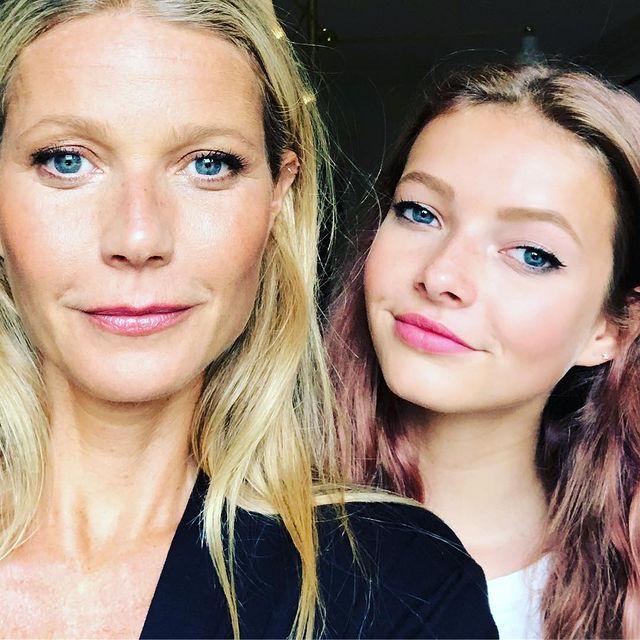 Gwyneth Paltrow y Apple Martin; 13 Madres e hijas famosas que están enamorando a Hollywood