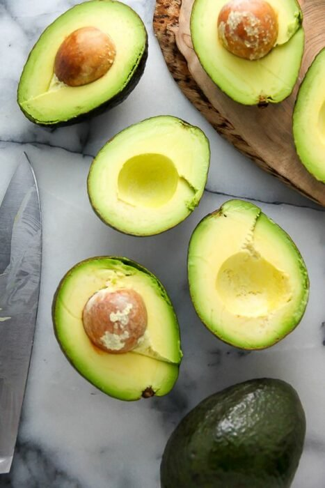 avocado; ; Masks with cornstarch for hair