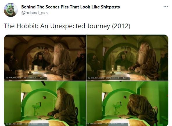 Detrás de escena de la película El hobitt: un viaje inesperado
