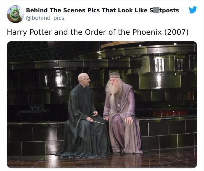 Detrás de escena de la película Harry Potter y la orden del fénix