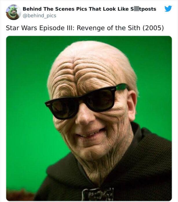 Detrás de escena de la película Star Wars la venganza de los sith