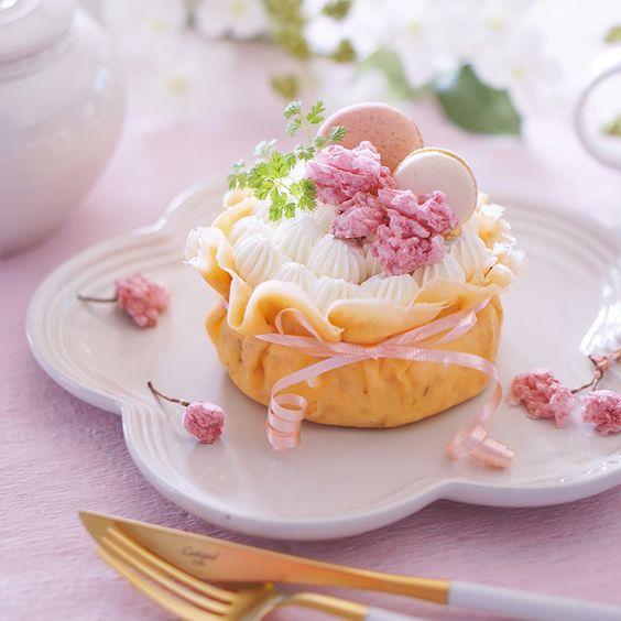 Pastel individual crocante ;15 Pasteles aesthetic para presumir en tu cumpleaños