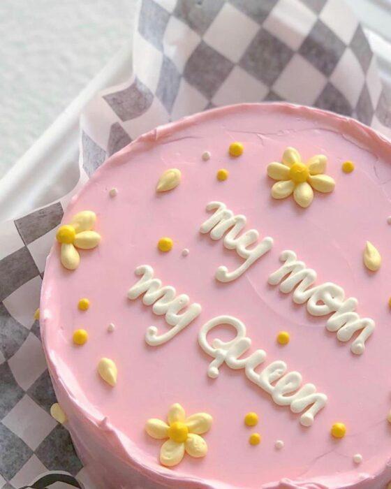 Pastel de fresa con crema ;15 Pasteles para demostrarle a mamá cuanto la amas