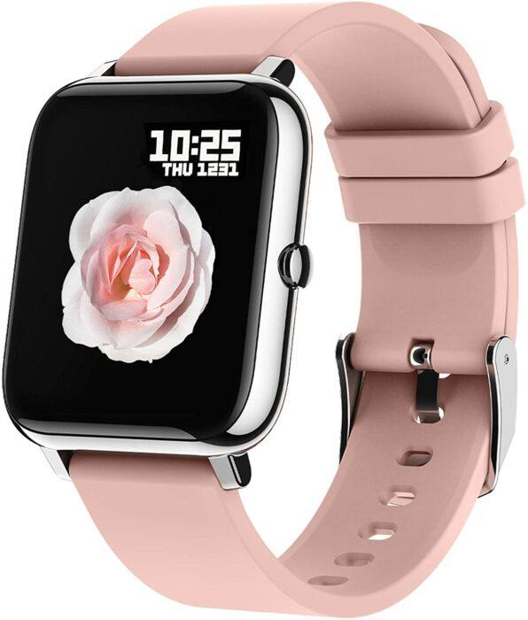 Reloj smartwatch en color rosa