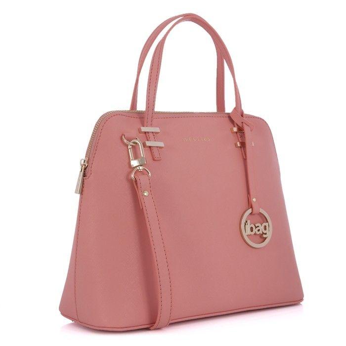 Bolsa de mujer en color rosa