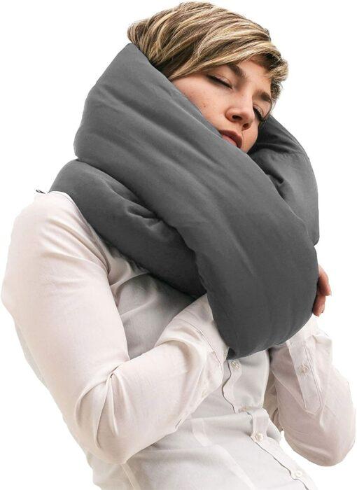 Manda térmica que se pone en el cuello