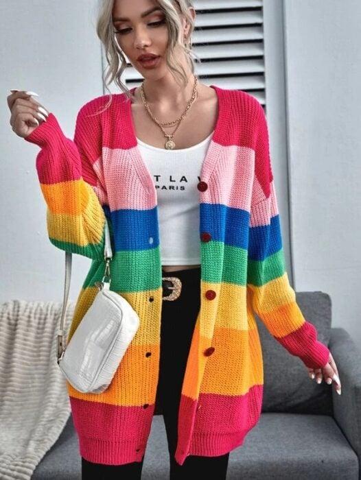 cueter de arcoíris ;13 Coloridos regalos para las chicas que aman los arcoíris
