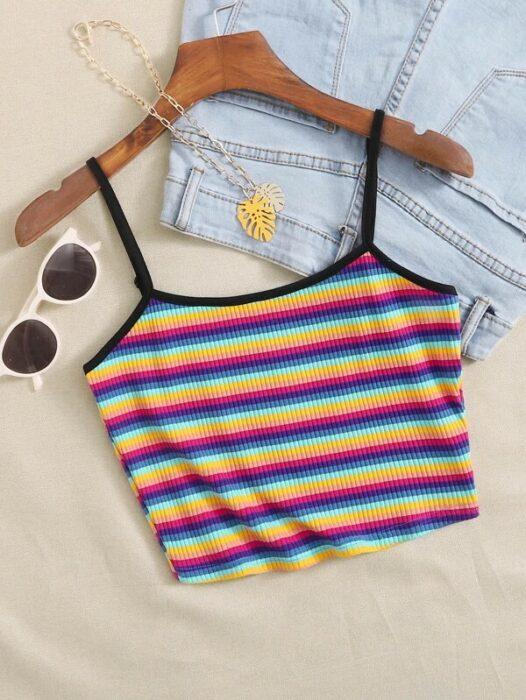 tops de arcoíris ;13 Coloridos regalos para las chicas que aman los arcoíris
