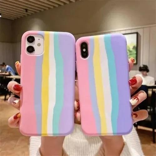 case para celular de arcoíris ;13 Coloridos regalos para las chicas que aman los arcoíris