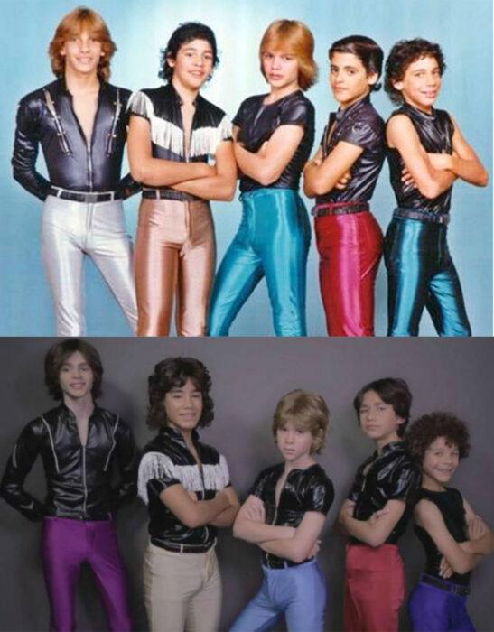 Comparación de integrantes de menudo con los chicos de la serie