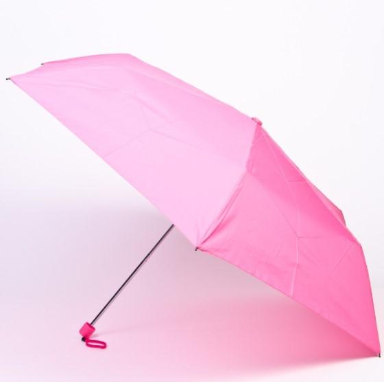 Sombrilla de color rosa