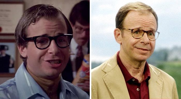 Rick Moranis antes y después de su carrera en Hollywood