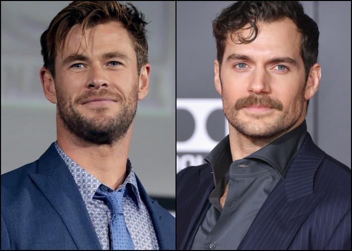 Chris Hemsworth y Henry Cavill