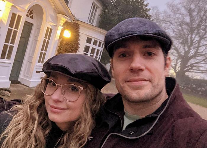 Henry Cavill y Natalie Viscuso