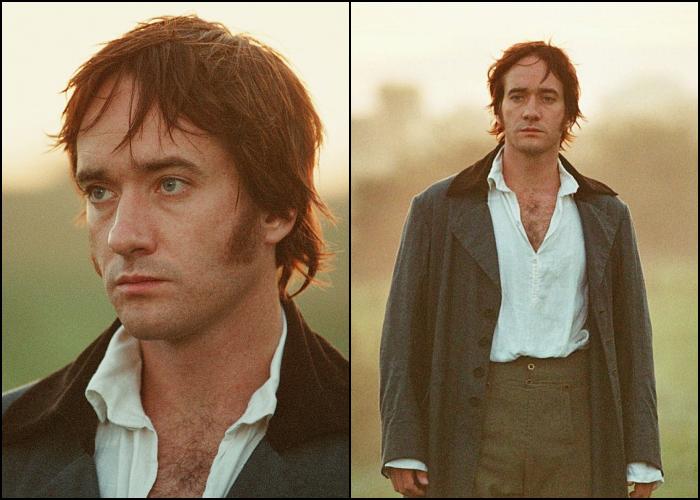 Mr. Darcy en Pride and Prejudice