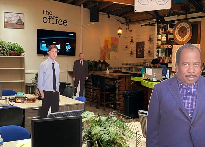 Bar inspirado en The Office