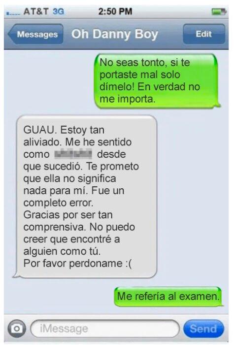 mensaje de texto ;14 Infieles que fueron descubiertos por un mensaje de texto mal enviado