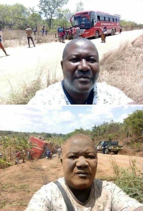 Hombre cubierto de tierra ;15 Personas que mantuvieron la calma en momentos críticos