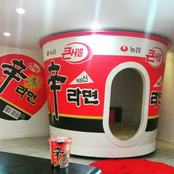 Dormitorios en forma de tu ramen favorito ;18 Pruebas de que Corea del Sur es un lugar increíble para vacacionar