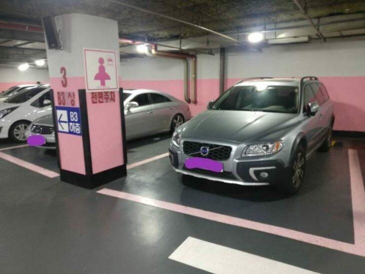 Estacionamientos exclusivos para chicas ;18 Pruebas de que Corea del Sur es un lugar increíble para vacacionar