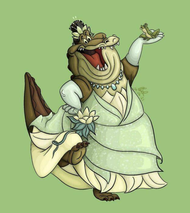 Louis ;Artista convierte a mascotas Disney en protagonistas de cuentos de hadas
