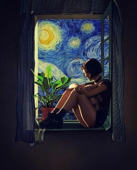 Natalie Portman; Pintura de Ertan Atay; Artista mezcla personajes de la cultura pop con pinturas y su trabajo es increíble
