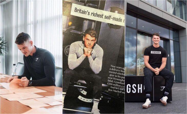 Ben Francis, el joven que a los 19 años creó una millonaria marca deportiva ya como empresario