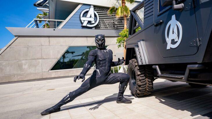 atracción Black Panther ;¡Por fin! Disneyland abre las puertas de Avengers Campus y ya estamos haciendo las maletas para visitarlo