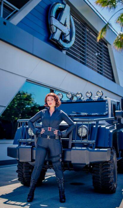 Black Widow ;¡Por fin! Disneyland abre las puertas de Avengers Campus y ya estamos haciendo las maletas para visitarlo