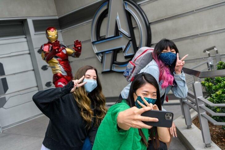 Iron-Man ;¡Por fin! Disneyland abre las puertas de Avengers Campus y ya estamos haciendo las maletas para visitarlo