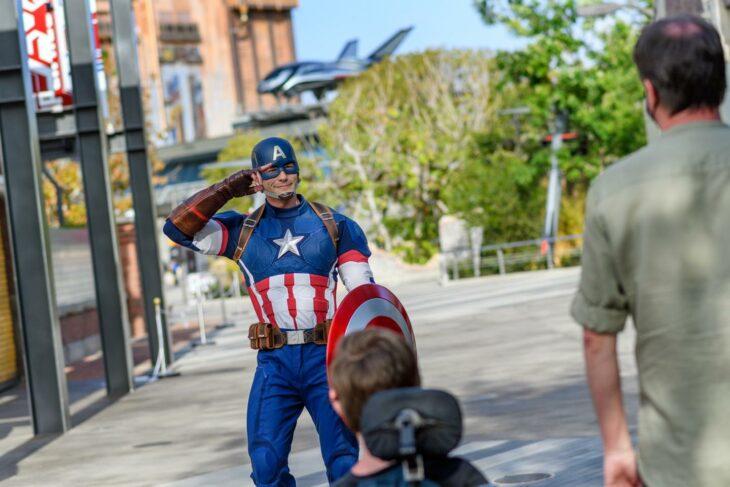 Capitán América ;¡Por fin! Disneyland abre las puertas de Avengers Campus y ya estamos haciendo las maletas para visitarlo