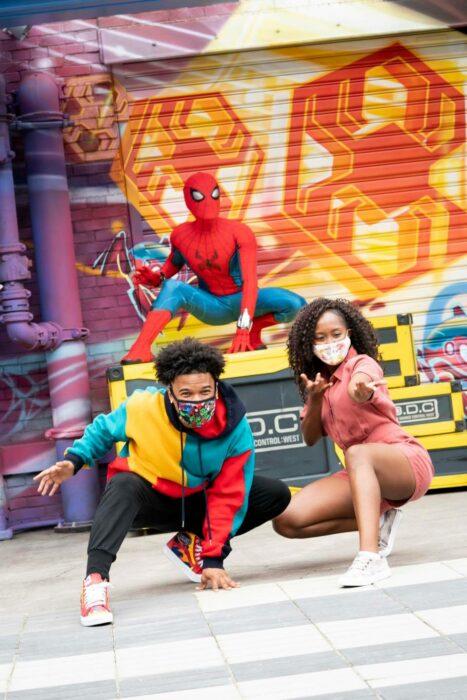 Spider-Man ;¡Por fin! Disneyland abre las puertas de Avengers Campus y ya estamos haciendo las maletas para visitarlo