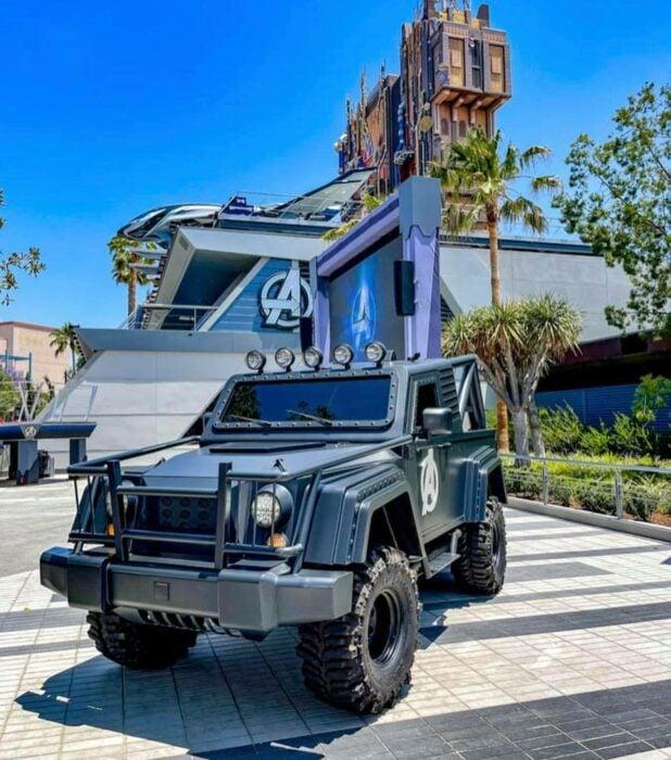 camioneta para ir a Avengers Campus ;¡Por fin! Disneyland abre las puertas de Avengers Campus y ya estamos haciendo las maletas para visitarlo