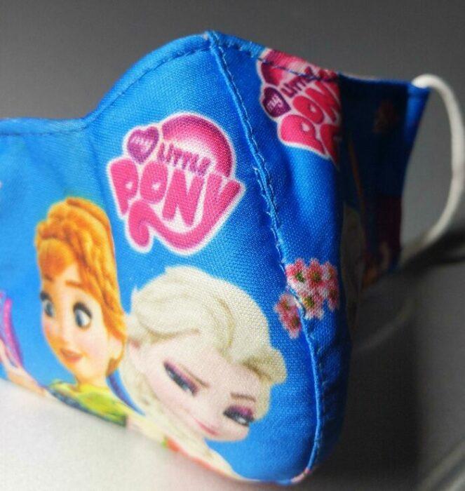 Elsa y Ana de Frozen con el nombre de Little Pony