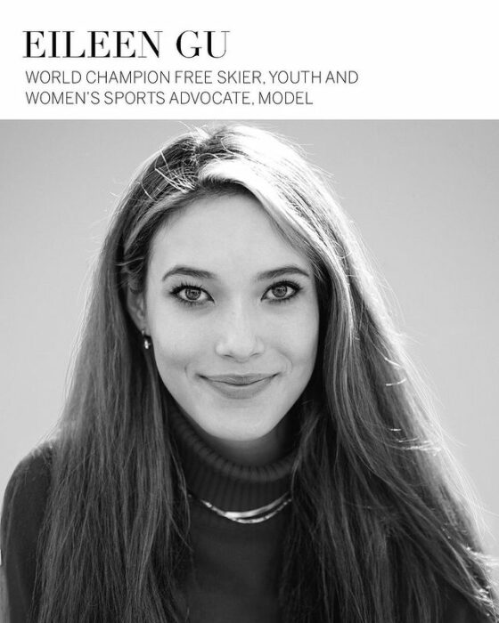 Eileen Gu, modelo de victoria's Secret