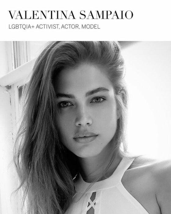 Valentina Sampaio modelo de victoria's secret