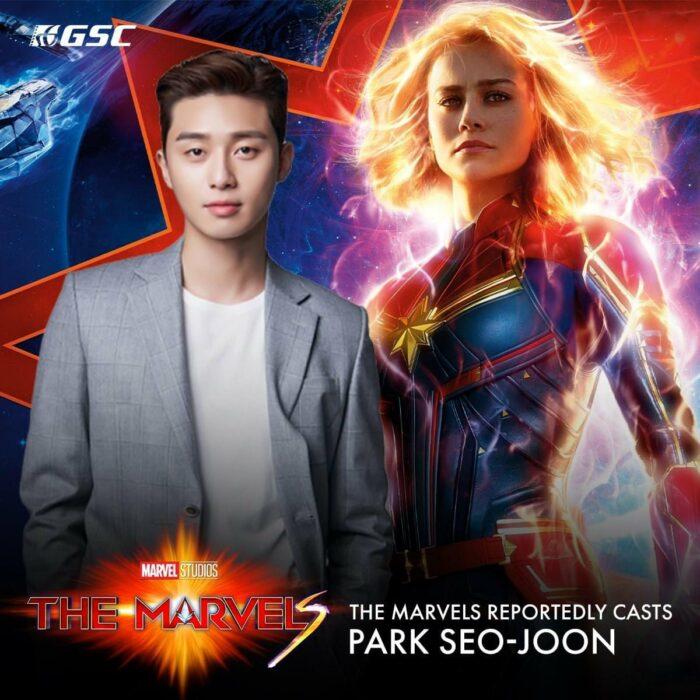 Park Seo-joon podría aparecer en la nueva película 'The Marvels'