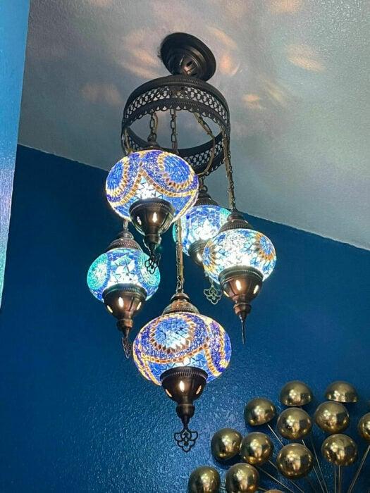 Lámpara de cancel con diferentes colores