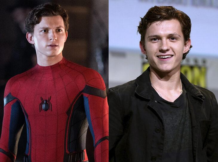¿Peter Parker interpretado por Tom Holland