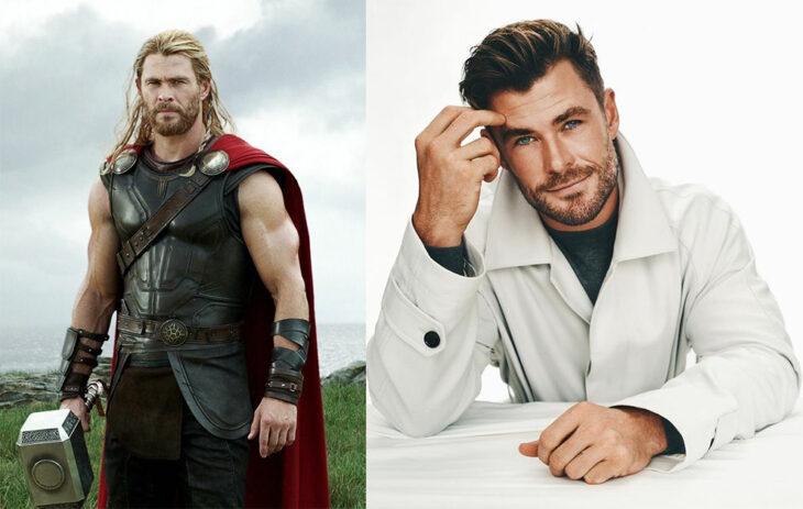 Thor interpretado por Chris Hemsworth