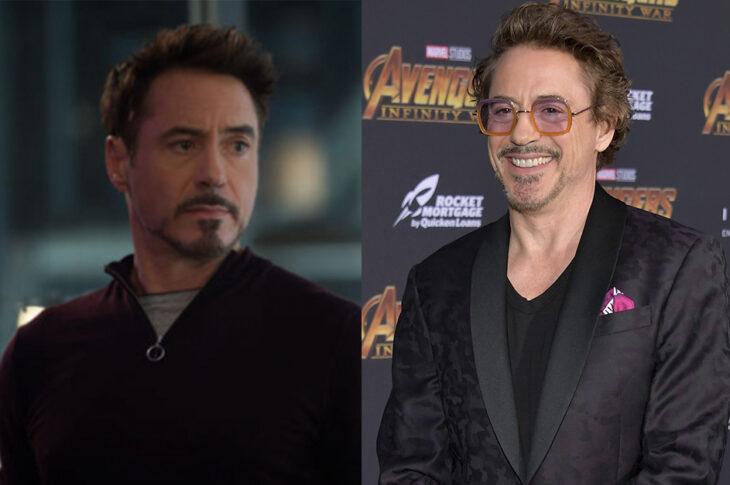 Tony Stark interpretado por Robert Downey Jr